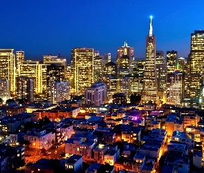San, Nocą, Francisco