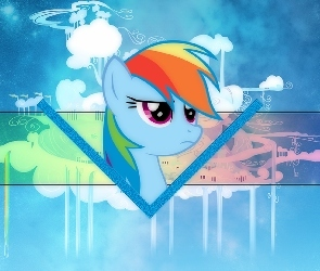 My Little Pony, Cloudsdale, Rainbow Dash