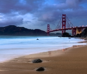 Most Golden Gate, San Francisco, Zatoka