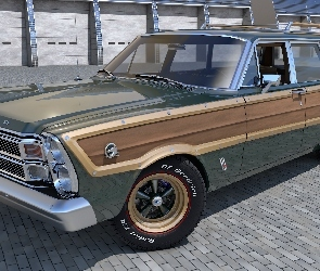 Ford Country Squire, Zabytkowy, 1966