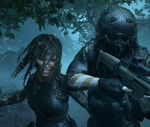 Gra, Żołnierz, Lara Croft, Shadow of the Tomb Raider