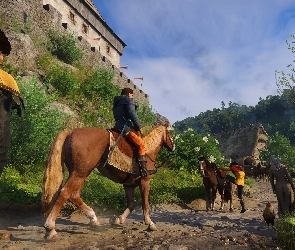 Kingdom Come Deliverance, Koń, Henry, Postacie