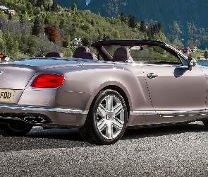 Bentley Continental GT, Bok, Tył