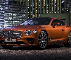Brązowy, Coupe, Bentley Continental GT V8