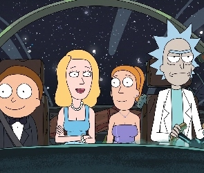 Serial animowany, Rick i Morty, Rick and Morty
