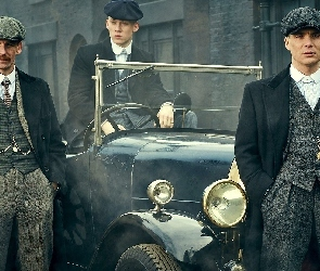 Joe Cole, Cillian Murphy, Aktorzy, Aktor, Peaky Blinders, Serial, Gangsterzy, Paul Anderson
