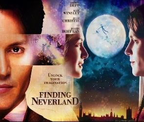 Finding Neverland, Kate Winslet, Johnny Depp