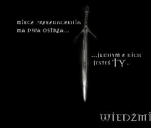 miecz, The Witcher