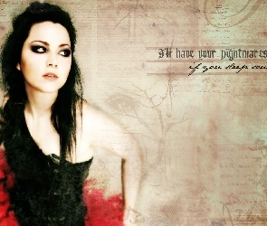Amy Lee, Plakat, Evanescence