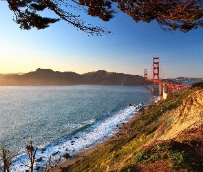 Most, San Francisco, Golden Gate