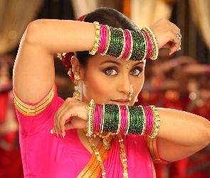 Bollywood, Rani Mukherjee, Oczy