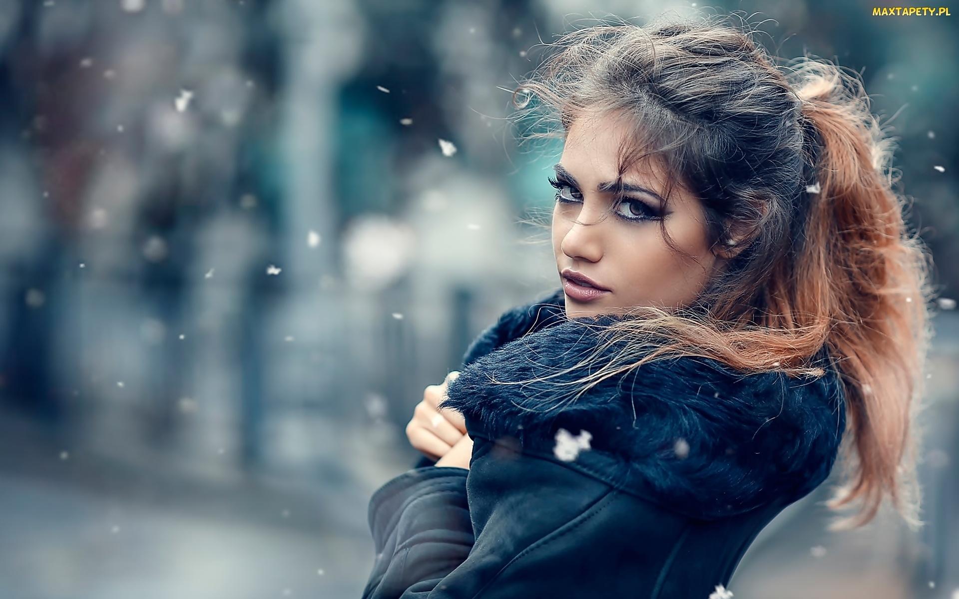tapety, zdjęcia - makijaż, dziewczyna
