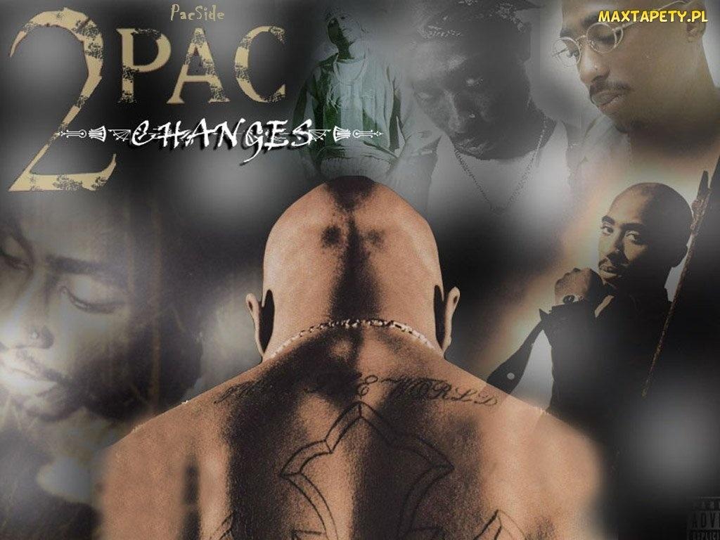 Tapety Zdjęcia 2 Pac Tatuaż Kark
